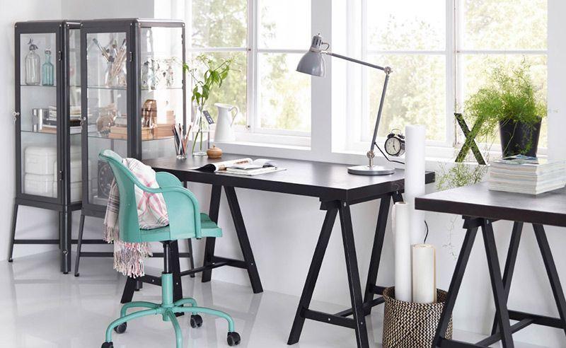 Dise a tu oficina en casa decoraci n iluminaci n for Disena tu comedor