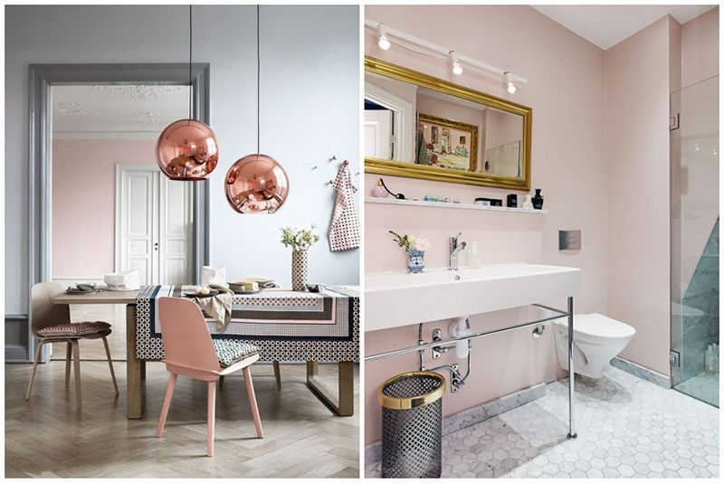 Colores Paredes 2016 Of Introduciendo El Cuarzo Rosa Tendencias Interiorismo