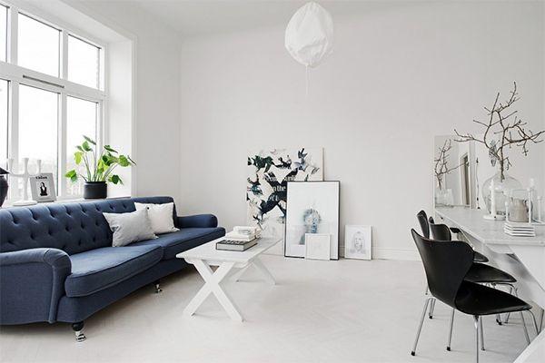 Diseño de interiores Escandinavo Tendencias