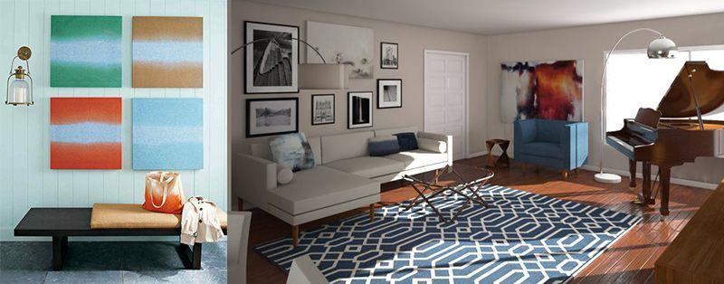 fotocuadros-interiorismo-tendencias
