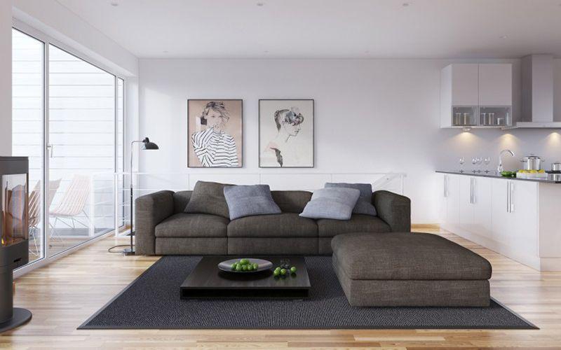 Salón Home decor Sofás Interiorismo