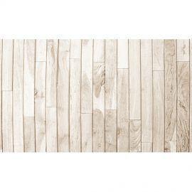 Alfombra Vinílica Madera Brown White 120x48cm