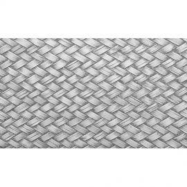 Alfombra Vinílica Textura Trenzado Grey 120x48cm