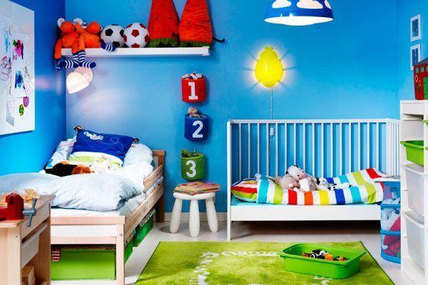 Algunas Ideas económicas para la decoración de la habitación de los niños