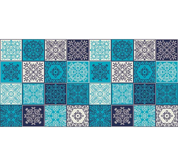 Alfombra barcelona alfombra de cocina e ignfuga se limpia fcilmente con una fregona made in - Alfombras forghani barcelona ...