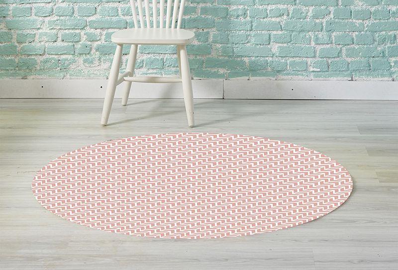 Alfombra vinilica redonda alfombras de vinilo para interior y exterior - Alfombra redonda infantil ...