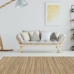 Alfombra Grande Salon - Bambu Cuadrado 295x195cm