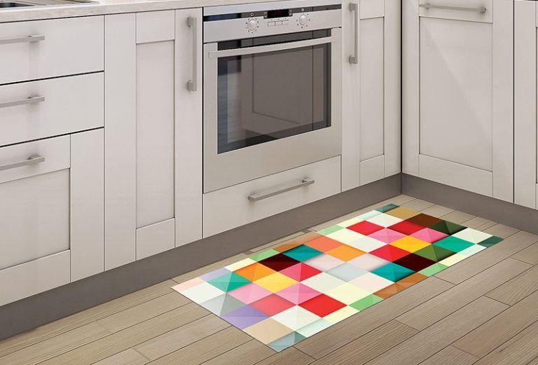 Alfombra Vinilica Cocina - Textura Lloyd 97x48cm