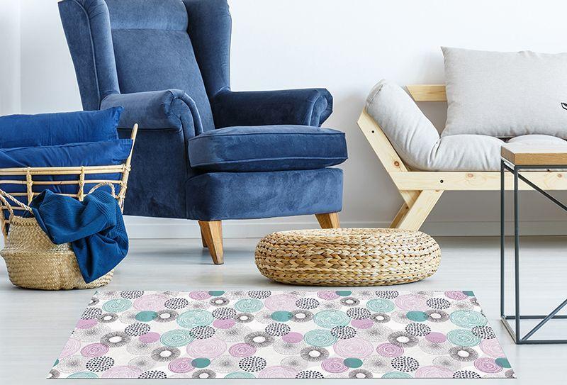 Alfombra vinilica de dise o alfombras de vinilo para - Alfombras rusticas ...