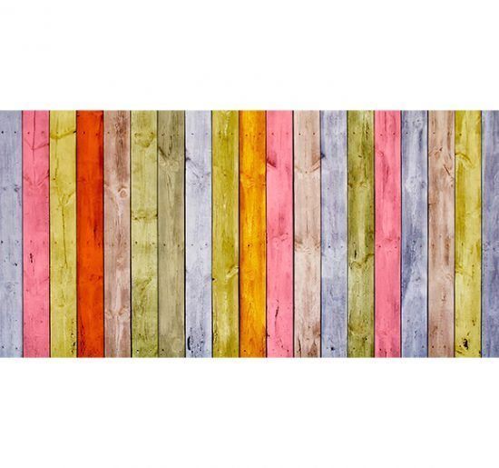 Alfombra Vinilica Madera Multicolor 97x48cm