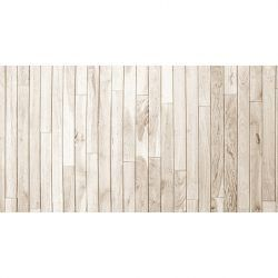 Alfombra Vinilica Madera Brown White 97x48cm