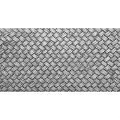 Alfombra Vinilica Trenzado Grey 97x48cm