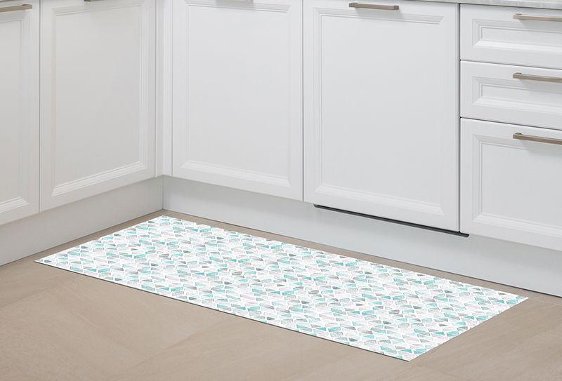 Alfombra pasillo tri ngulos 150x65cm alfombras - Alfombra pasillo vinilo ...