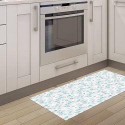 Alfombra para Cocina - Triángulos 97x48cm