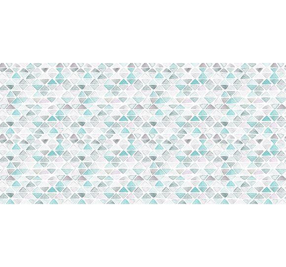 Alfombra Vinílica Triángulos 97x48cm