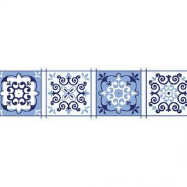 set de 24 Vinilos Adhesivos Azul Granada