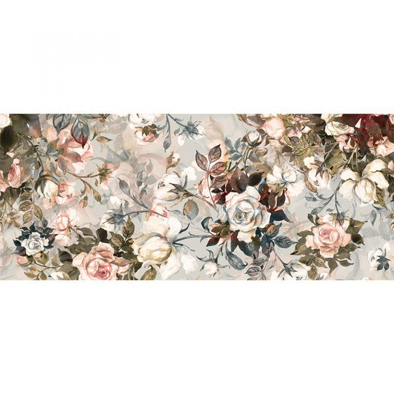 Alfombra Vinílica - Floral Sweet - 175x74 cm