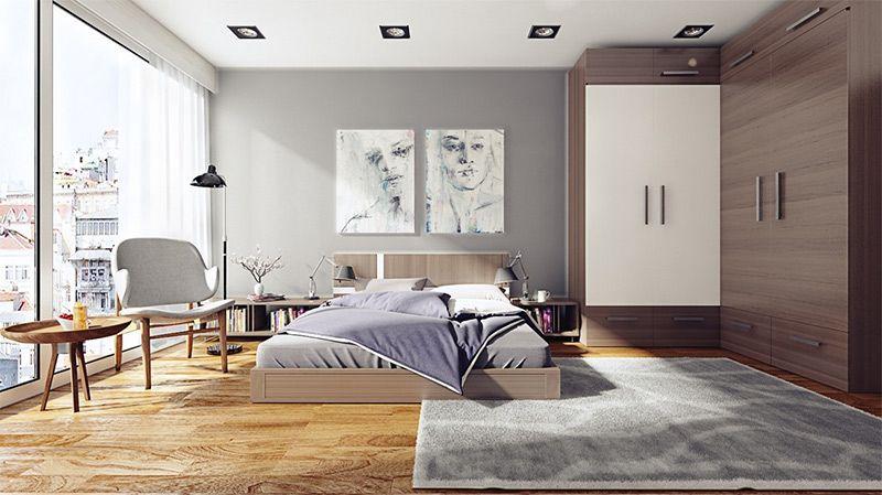 Dormitorio Iluminación Interiorismo