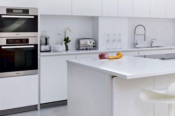 Cocinas totalmente blancas ¿Sí o no?