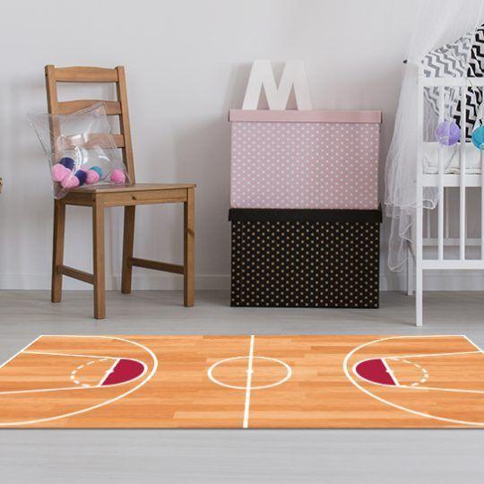 Alfombras Habitacion Niño - Baloncesto 143 x 97