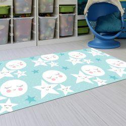 Alfombras Infantiles Lavables - Estrellas del sueño 143x97