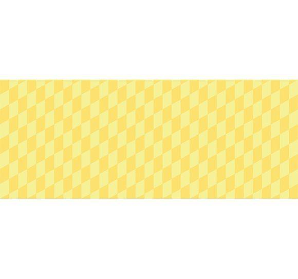 Alfombra vin lica infantil 120x48 geom trico amarillo for Alfombra vinilica infantil