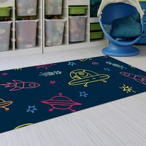 Alfombras de Niños - Marcionos Azul 143x97