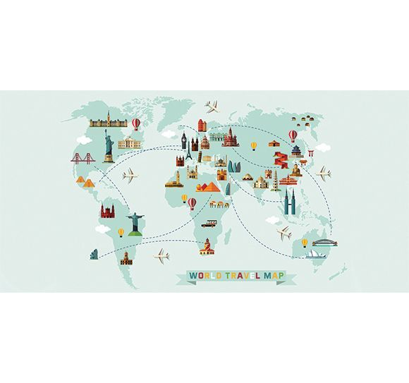 Mapa Del Mundo Infantil.Alfombra Vinilica Infantil Mapa Del Mundo