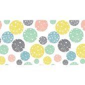 Alfombra Vinílica Infantil 97x48 - Orbes de Color