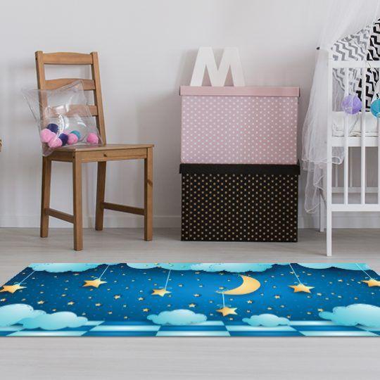 Alfombras de Vinilo - Cielo Estrellado 150x65