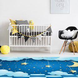 Alfombras Habitacion Bebe - Cielo Estrellado 295x195