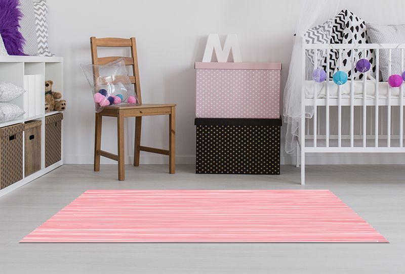 Alfombras para Bebes - Rosa 150x65