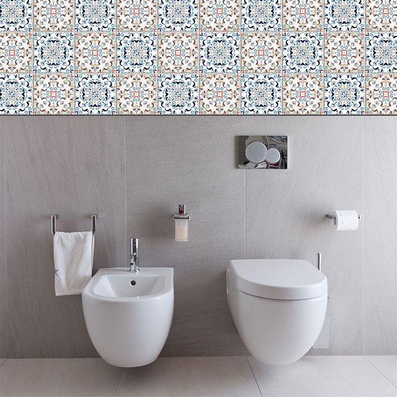 Cuarto de ba o archivos alfombras vin licas y azulejos for Baldosas vinilicas pared