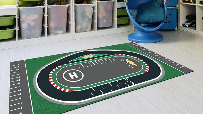 Alfombras para infantiles top goodid alfombra puzzle con for Alfombras vinilicas ikea