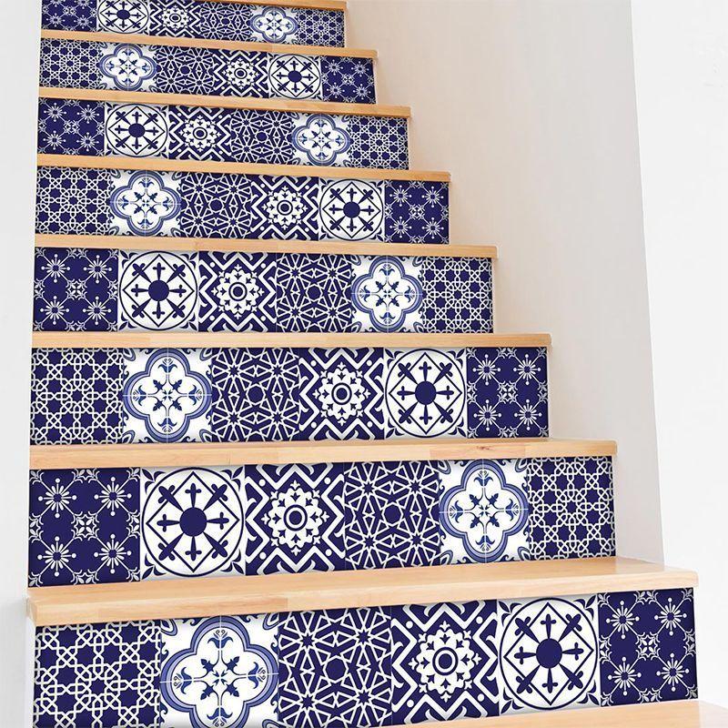 Mobiliario Home decor Azulejos de vinilo adhesivo