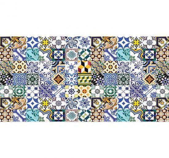 Alfombra Vinilica Hidráulico Coimbra 97x49cm