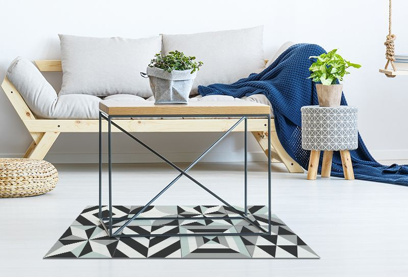 Alfombras de plastico alice negro 97x49cm alfombras - Alfombras de plastico ...