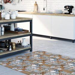 Alfombra lavable cocina - Hidráulico Estoril 196x122cm