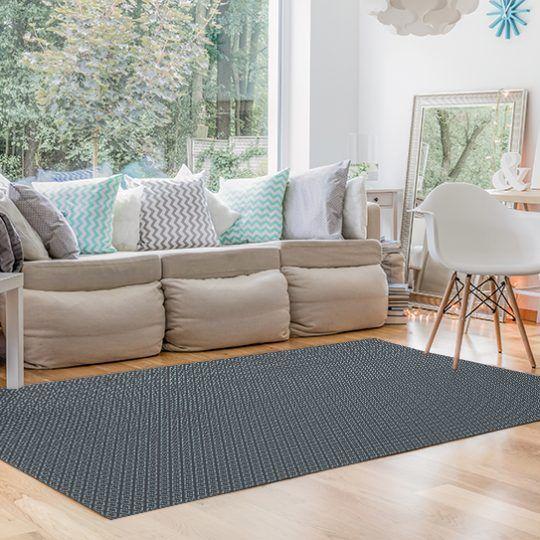 Decoracion con alfombras - Rombo Gris 295x195cm