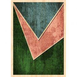 Cuadro de Madera - Tricolor