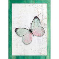 Cuadro de madera Impresa - Mariposa