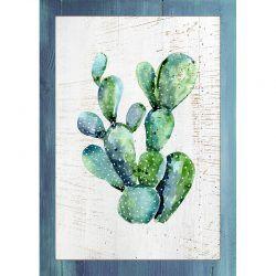 Cuadro de madera Impresa - Cactus