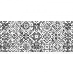 Alfombra Vinílica - Hidráulico Gris - 175x74 cm