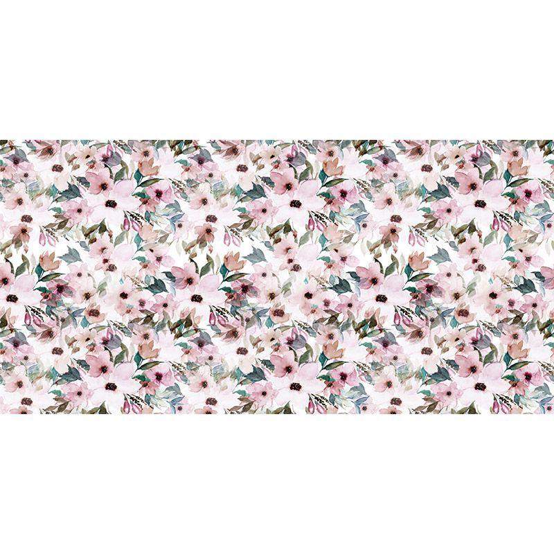 Alfombra Vinílica - Floral Pastel