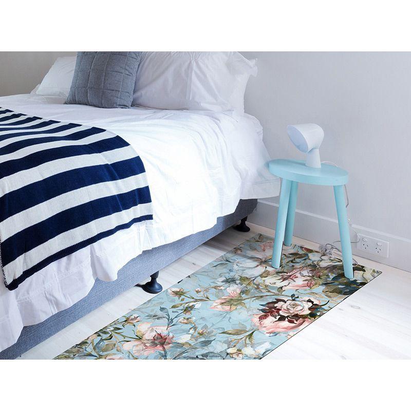 Alfombra Vinílica - Floral Oasis - Dormitorio