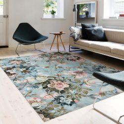 Alfombra Vinílica - Floral Oasis - Recibidor