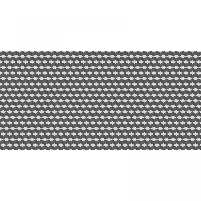 Alfombra Vinílica - Geométrico Negro