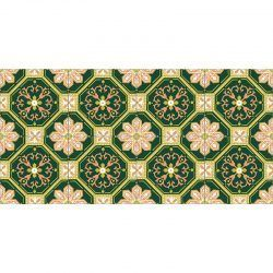 Alfombra Vinílica - Hidráulico Floral