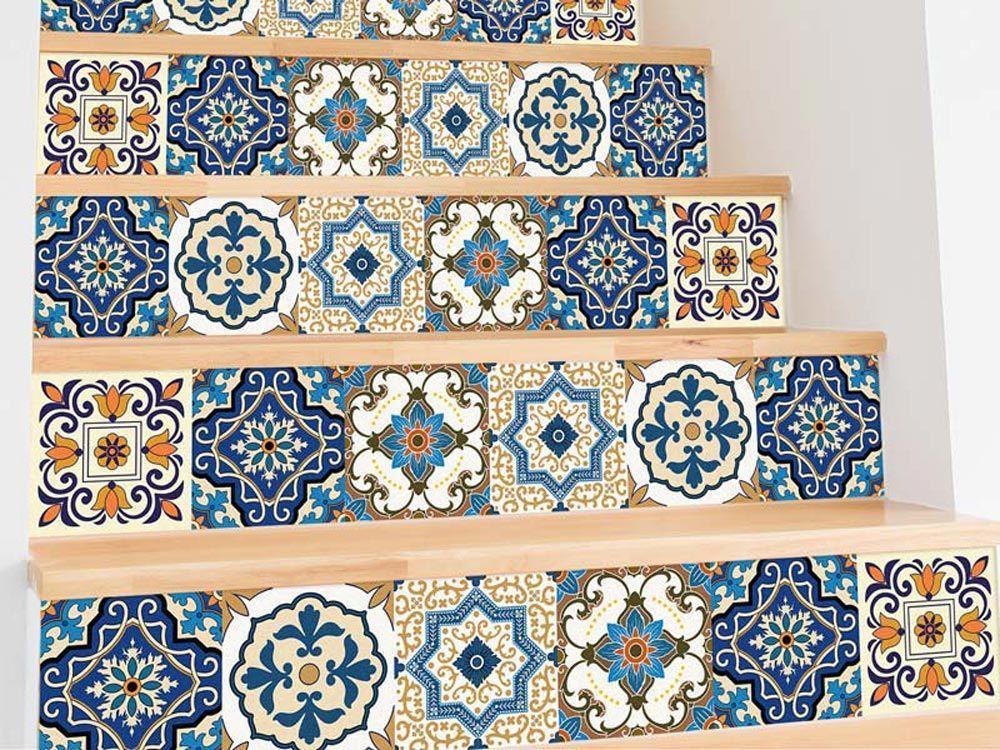 Vinilos adhesivos azulejos Alfombras vinílicas