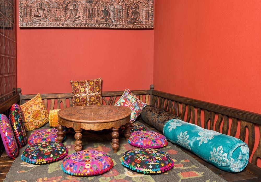 Decoraci n de interiores con estilo marroqu - Azulejos vinilicos ...